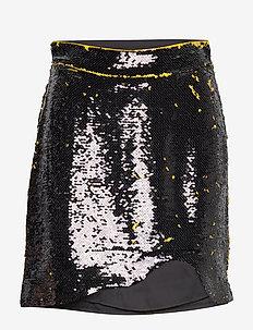 Sequins - spódnice mini - lemon