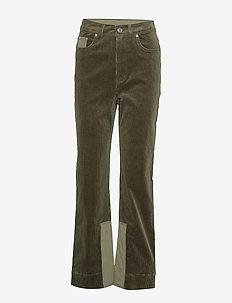 Stretch Corduroy - rette bukser - kalamata