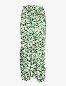Printed Crepe - midi kjolar - tapioca