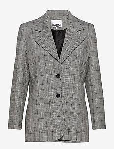 Suiting - blazer - phantom