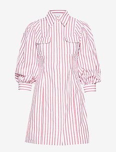 Stripe Cotton - shirt dresses - lollipop