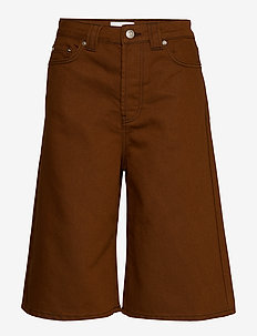 Mixed Denim - bermudas - caramel café
