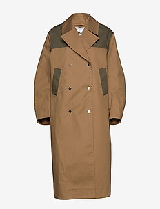 Double Cotton - trenchcoats - tannin