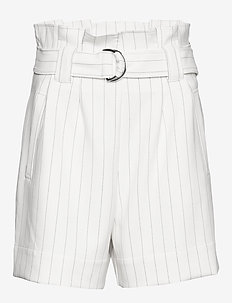 Suiting - paper bag -shortsit - egret