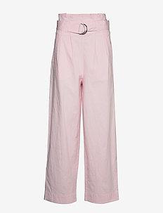 Ripstop Cotton Chino - bukser med brede ben - cherry blossom