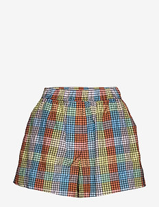 Seersucker Check - casual korte broeken - multicolour