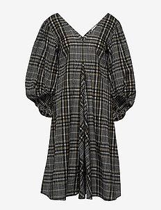 Seersucker Check - midi kjoler - kalamata