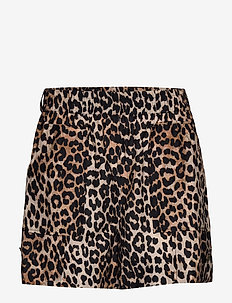 Cotton Silk - casual shorts - leopard