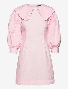 Printed Cotton Poplin - short dresses - cherry blossom