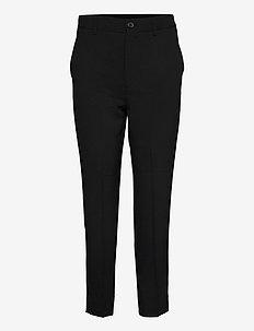 Heavy Crepe - pantalons casual - black