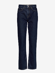 Basic Denim - mom jeans - dark indigo