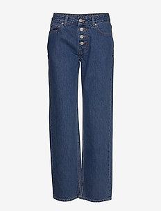 Basic Denim - pantalons larges - denim