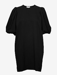 Heavy Crepe - korte jurken - black