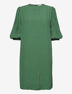 Printed Crepe - korte kjoler - foliage green