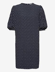Printed Crepe - korte kjoler - sky captain