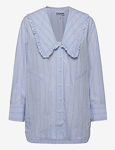 Stripe Cotton - tuniki - heather