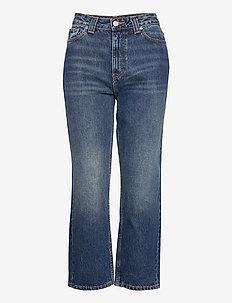 Washed Denim - brede jeans - denim