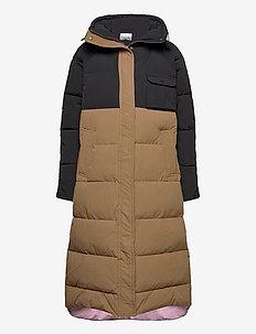 Heavy Tech - manteaux d'hiver - block colour