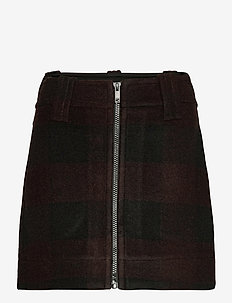Double Wool - lyhyet - black