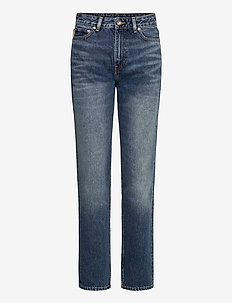 Washed Denim - straight jeans - denim