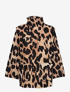 Linen Canvas - vestes legères - maxi leopard