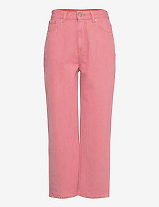 Yarndyed Denim - straight jeans - pink nectar