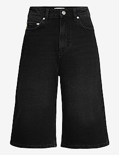 Comfort Stretch - korte jeansbroeken - black