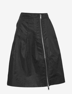 Outerwear Nylon - korte rokken - black