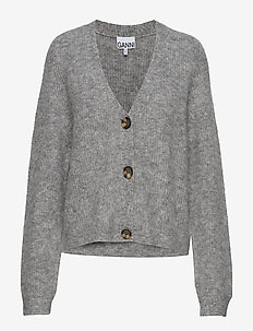 Soft Wool Knit Cardigan - PALOMA MELANGE