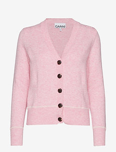 Wool Knit - CANDY PINK