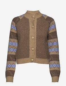 Knit Pattern - koftor - tannin