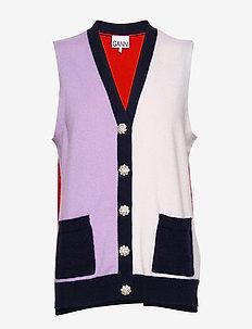 Cashmere Knit - gilets - multicolour