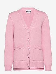 Wool Knit - cardigans - cherry blossom