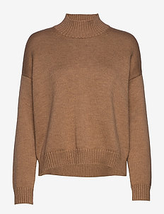 Wool Knit - jumpers - tiger's eye