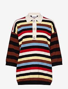 Cashmere Knit - gebreide t-shirts - multicolour
