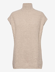 Rib Knit - turtlenecks - brazilian sand