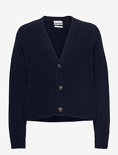 Rib Knit - vesten - sky captain