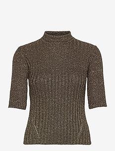 Glitter Knit - getrickte tops & t-shirts - mole