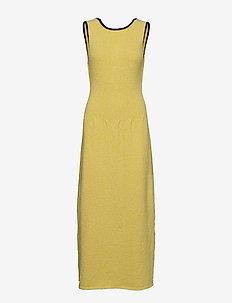 Slub Cotton Knit - summer dresses - pale banana