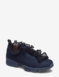 Ariana Sneakers - lave sneakers - denim