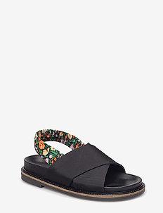 Mona - platte sandalen - black