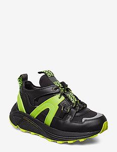 Tech - sneakersy niskie - neon maize