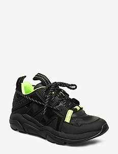 Tech Sneakers - chunky sneakers - black