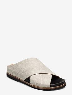 Flat Sandals - płaskie sandały - nature