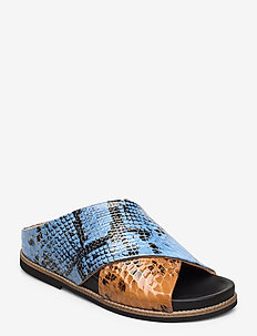 Flat Sandals - BRUNNERA BLUE