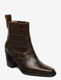 Western - ankle boots with heel - kalamata