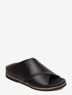 Flat Sandals - platte sandalen - black