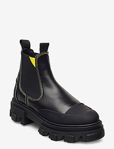 Low Chelsea Boot - talon bas - black