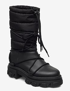 Working Boot - flade ankelstøvler - black