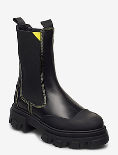 Mid Chelsea Boot - chelsea boots - black